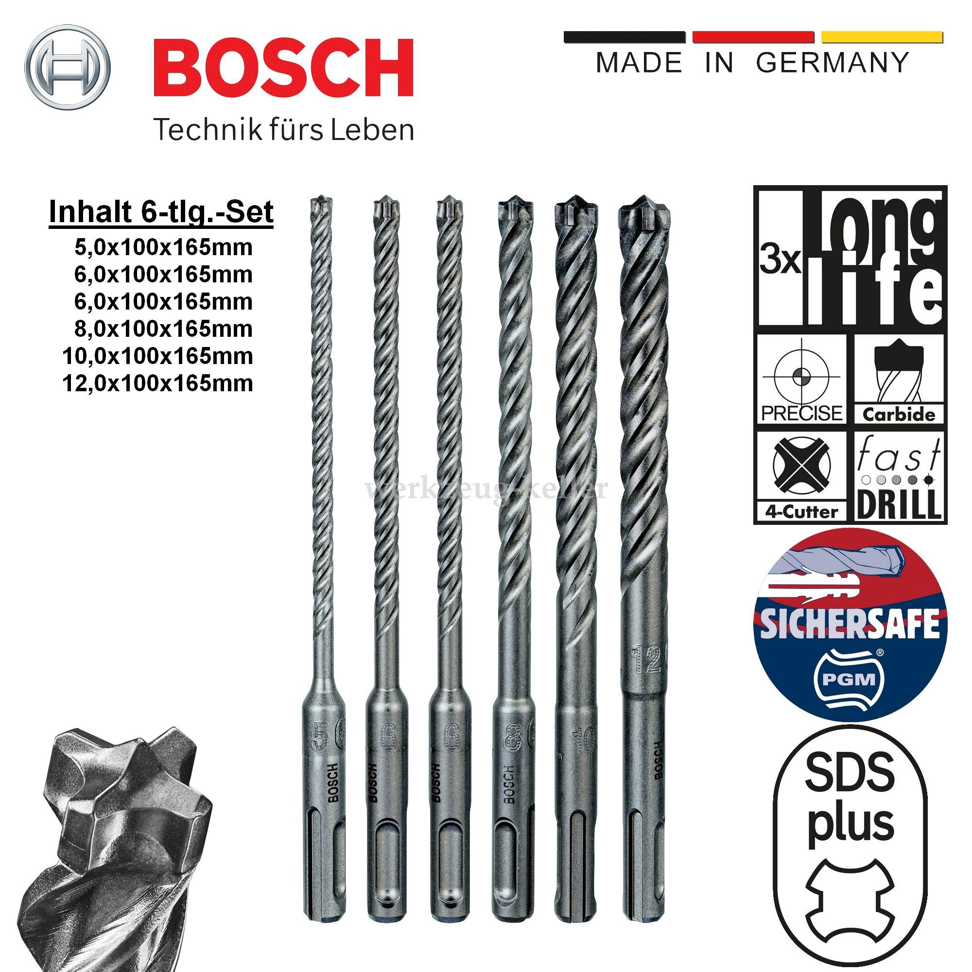 Heller ++NEU+++ SDS-plus-Bohrer Trijet 12 x 450//400mm