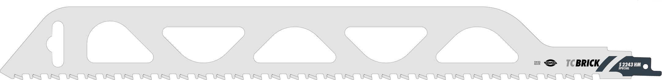 1x hawera s bels geblatt s2243hm tc brick f r mauerstein poroton gasbeton ebay. Black Bedroom Furniture Sets. Home Design Ideas